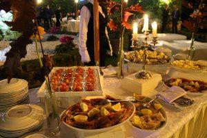 Ricevimenti e Matrimoni Roma Villa Grant - Buffet