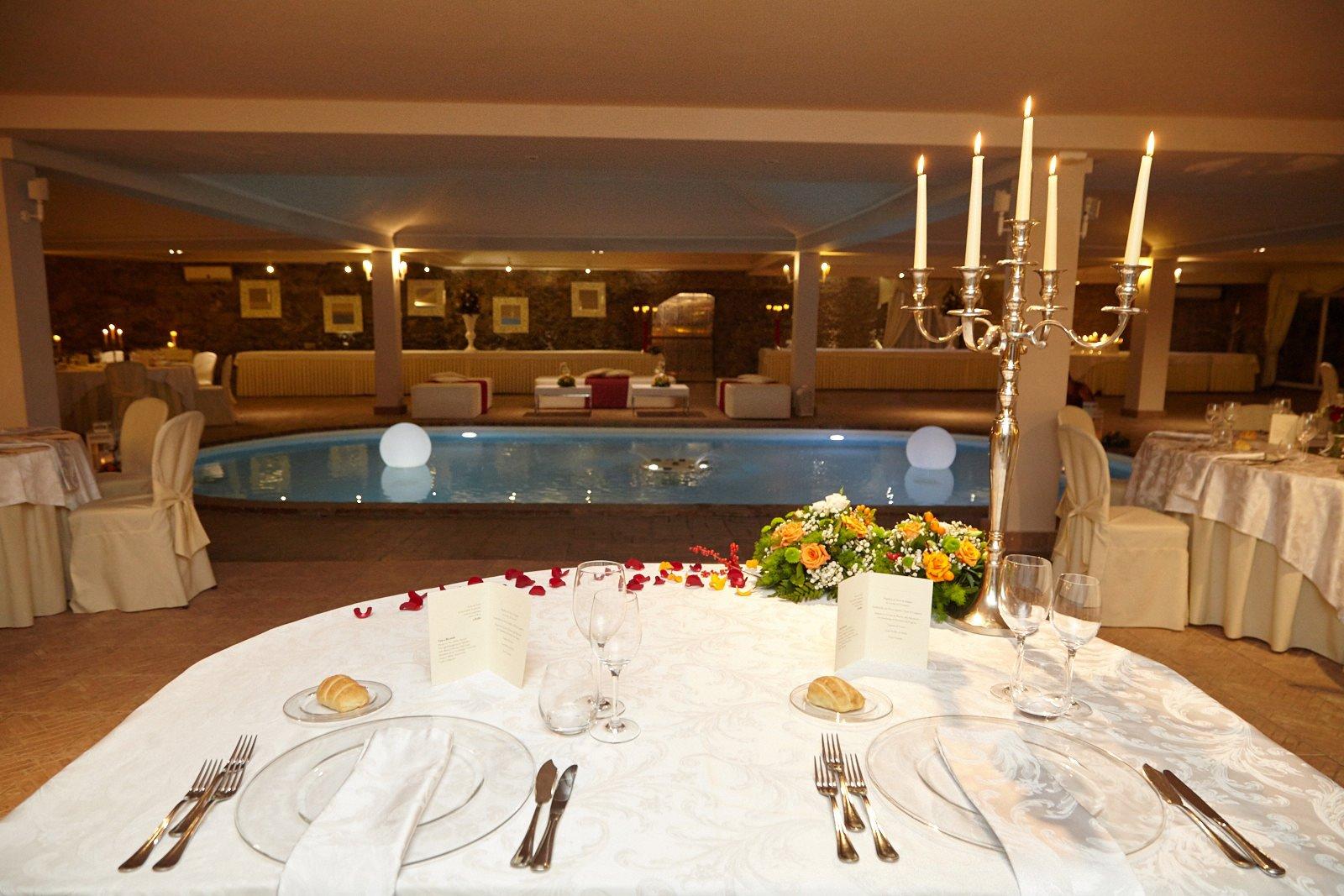 Ricevimenti e Matrimoni Roma Villa Grant - Sala Piscina
